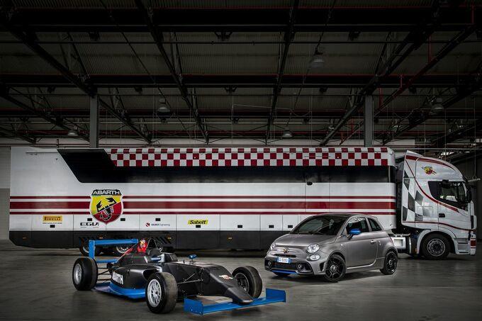 De Formule 4 en de Abarth F595, GF