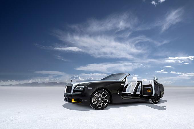 De Rolls-Royce Dawn Landspeed Collection., GF
