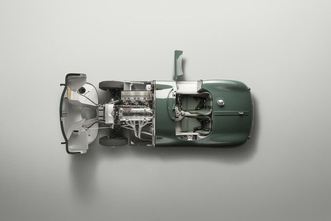 De C-Type werd opnieuw gebouwd volgens de originele specificaties., GF