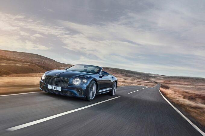 Ultrasnel cabriorijden in de GT Speed, GF