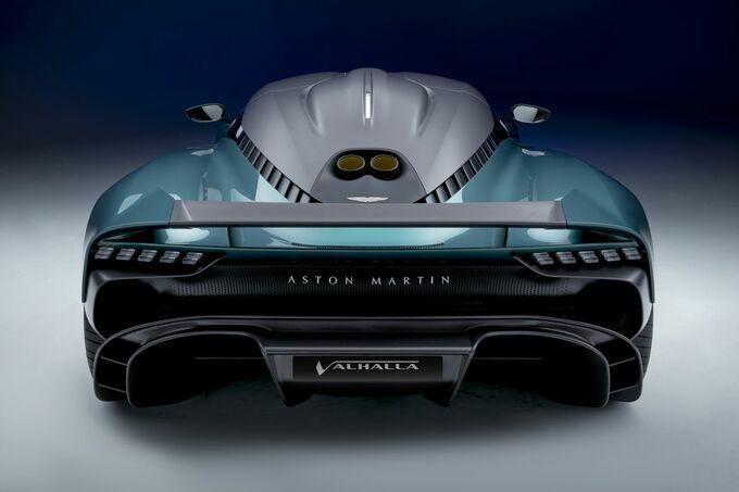 De Valhalla produceert 950 pk en haalt een top van 330 km/u, GF