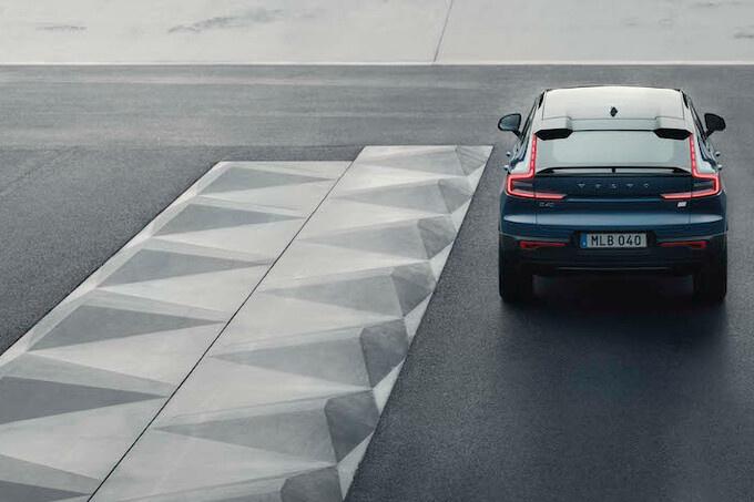De C40 is de eerste volledig elektrische modellijn van Volvo, GF