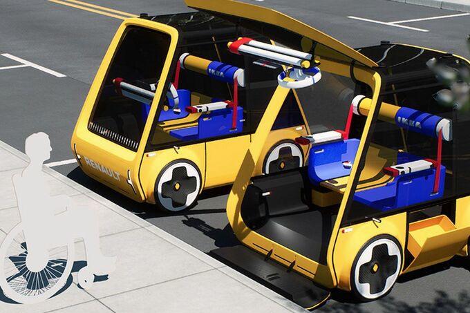 De Höga is een compacte elektrische stadswagen., GF