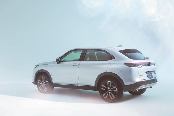 De Honda HR-V e:HEV heeft een hybride aandrijving, GF