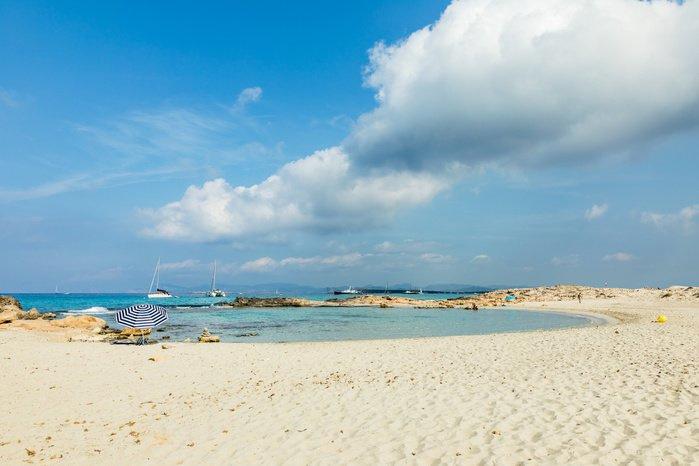 1. Playa ses Illetes sur Formentera en Espagne, Getty