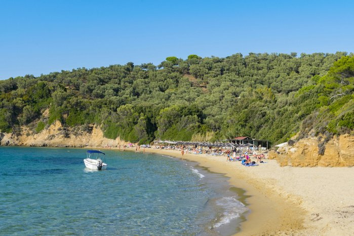 8.Little Banana Beach à Skithos en Grèce, Getty