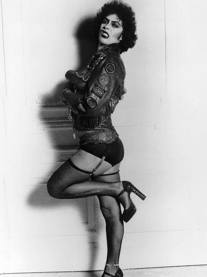 Plateauschoenen van Terry de Havilland in de Rocky Horror Picture Show, Getty