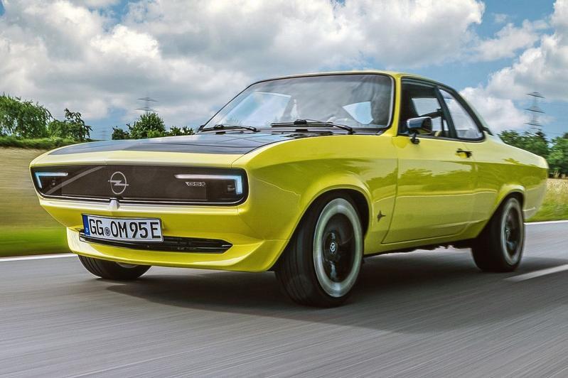 De Opel Manta GSe Elektromod., GF