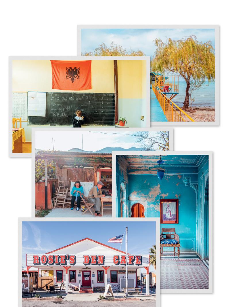 Voorbeeld van een postkaartpakket, GF