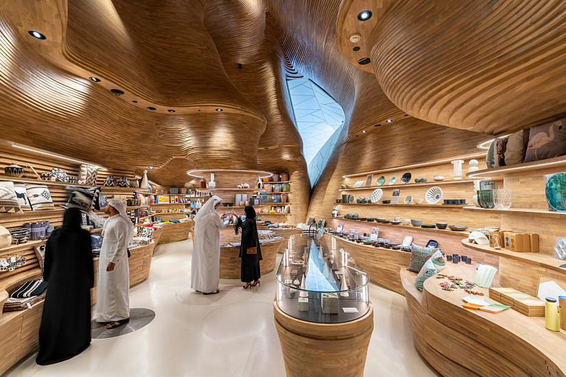 Museumshop National Museum of Qatar, ERCO