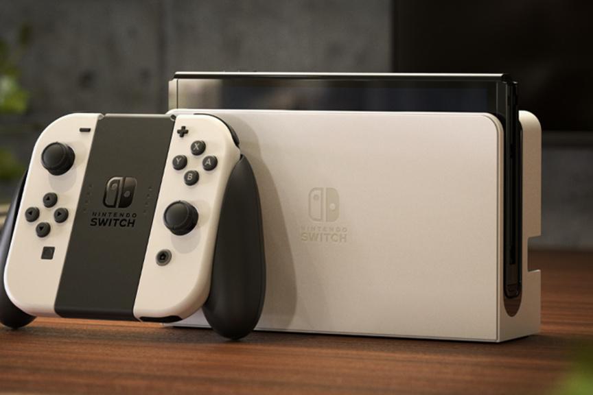 Nintendo Switch OLED., Nintendo