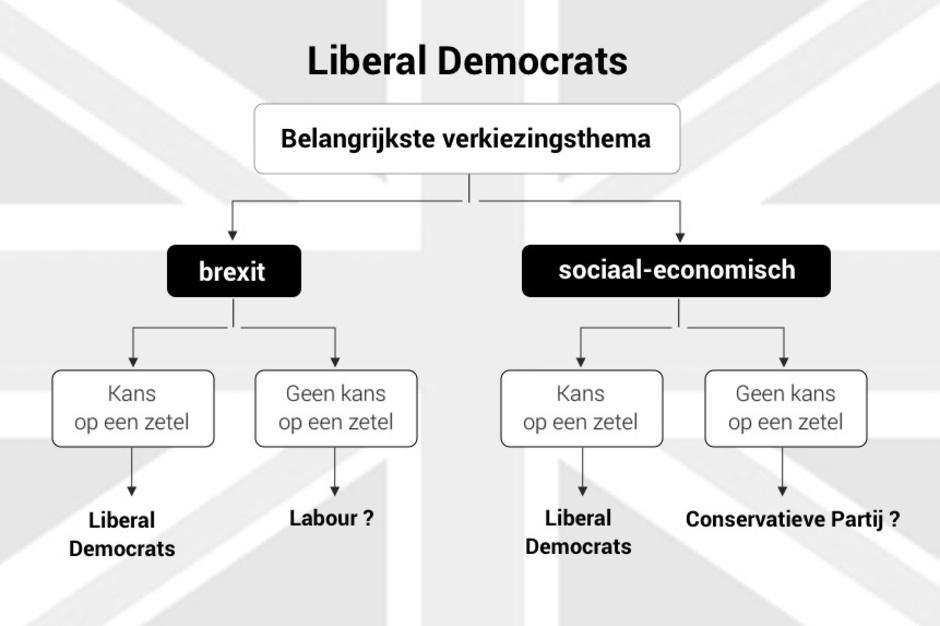 In welke mate stemmen de traditionele kiezers van de Liberal Democrats donderdag tactisch?, belga