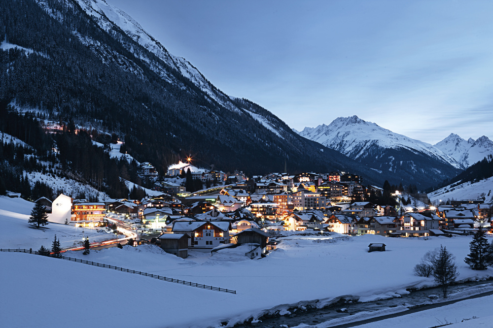 Station d'Ischgl en Autriche, Getty Images