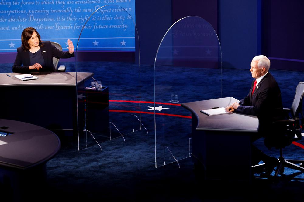 Kamala Harris et Mike Pence, Reuters