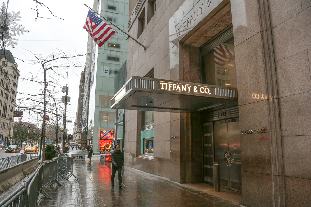 Boutique Tiffany sur la 5th Avenue, Getty Images