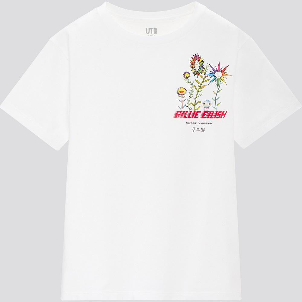 Tshirt kids UT - Billie Eilish X Murakami - Uniqlo - 9,90€, DR