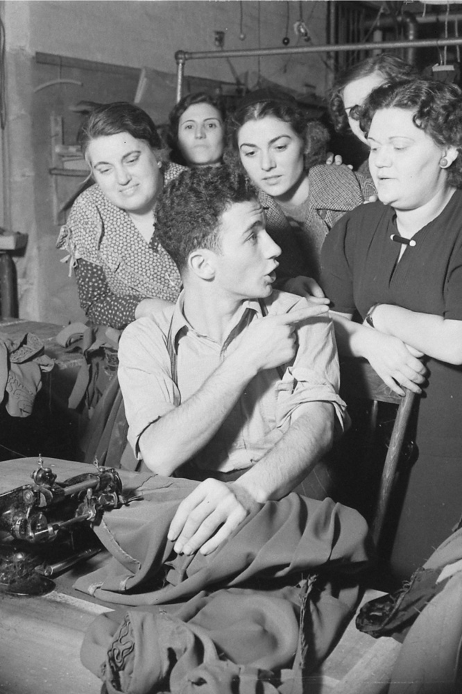 Les ouvriers de Garment District en 1938, Getty Images