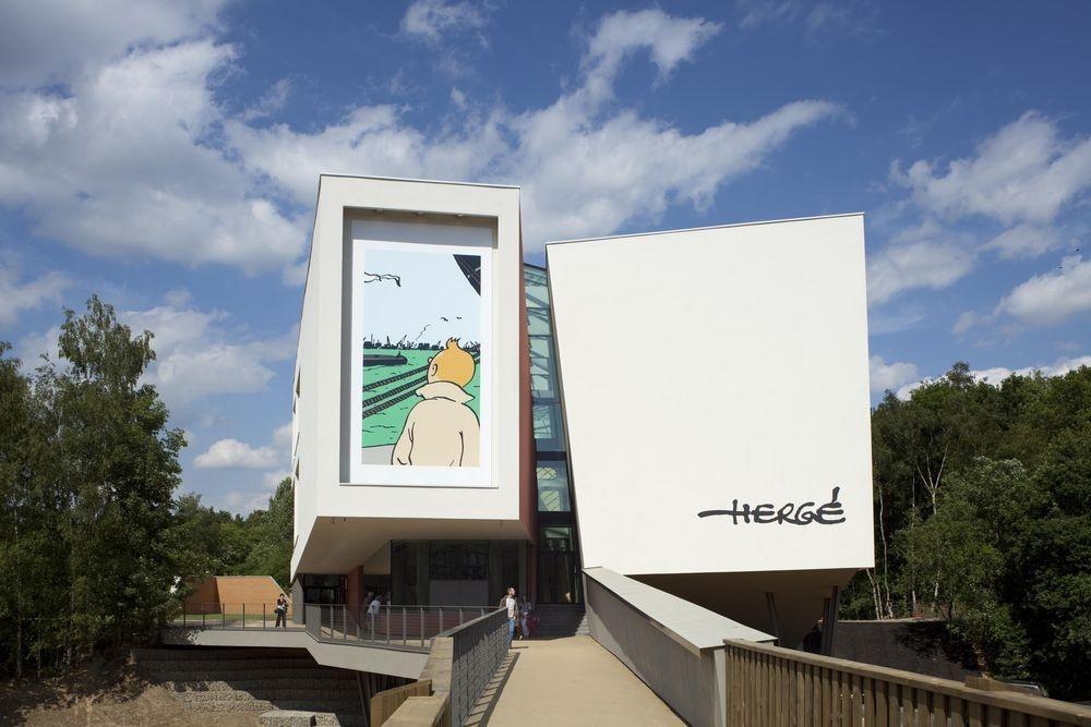 Le Musée Hergé à Louvain-la-Neuve, Nicolas Borel. Atelier de Portzamparc 2009.