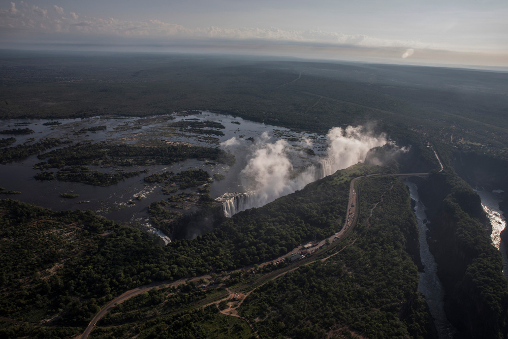 Les chutes Victoria, AFP