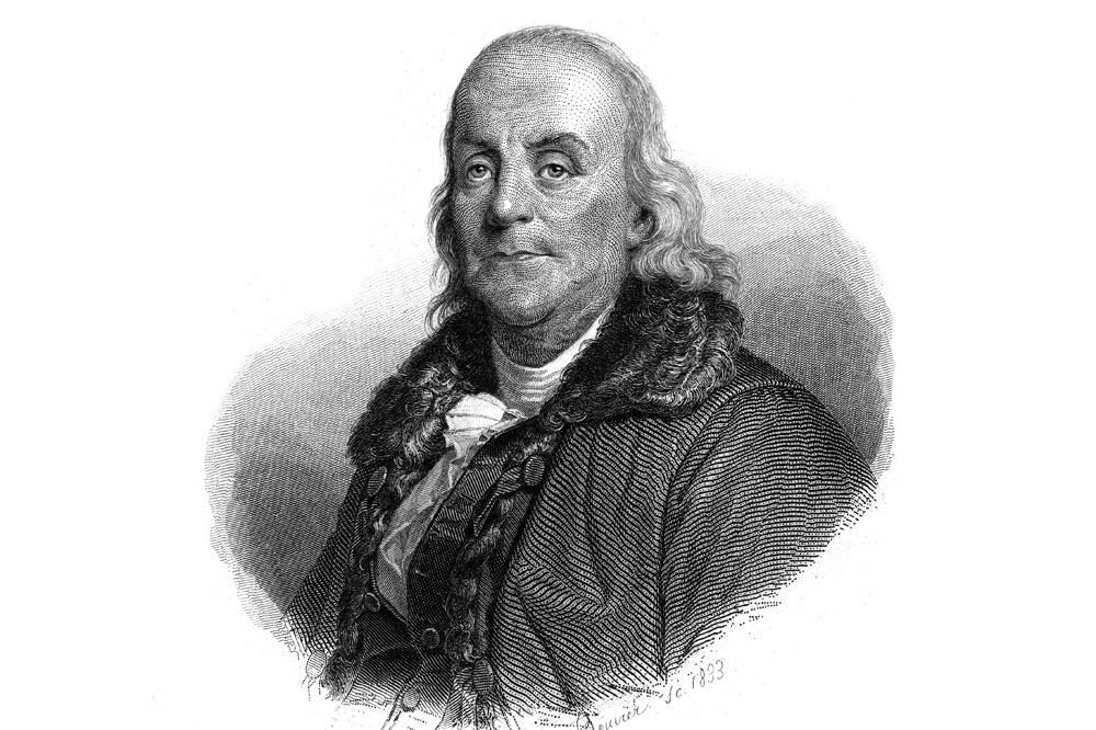 Benjamin Franklin, Getty Images