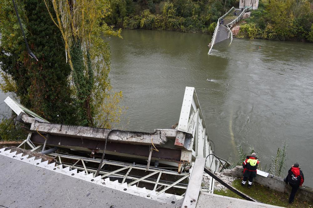 Pont de Mirepoix sur Tarn, le 18 novembre 2019, AFP