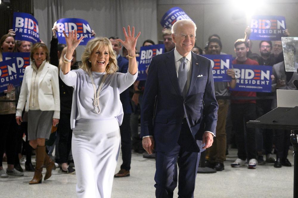 Jill Biden et son mari, Joe, Reuters