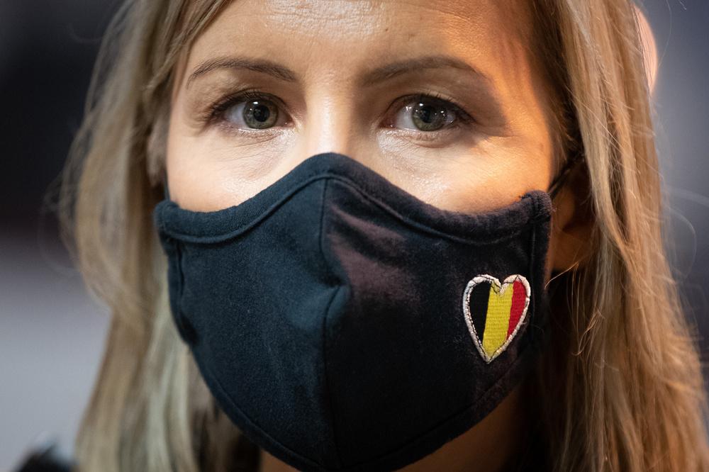 La ministre de la Défense Ludivine Dedonder, Belga
