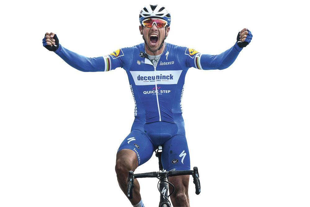 Philippe Gilbert wint Parijs-Roubaix, zijn vierde monument., BELGAIMAGE