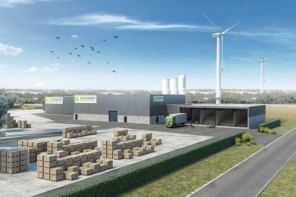 En pleine crise sanitaire, Isohemp a investi 7 millions pour construire une nouvelle usine et multiplier par... cinq sa capacité de production., PG