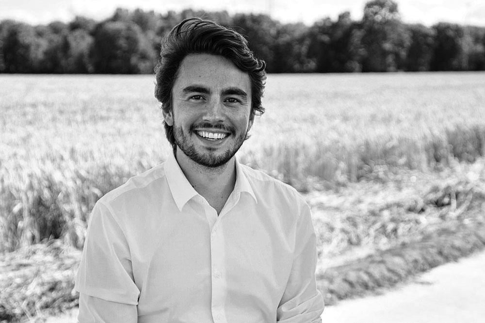Olivier Beghin, cofondateur d'Isohemp, PG