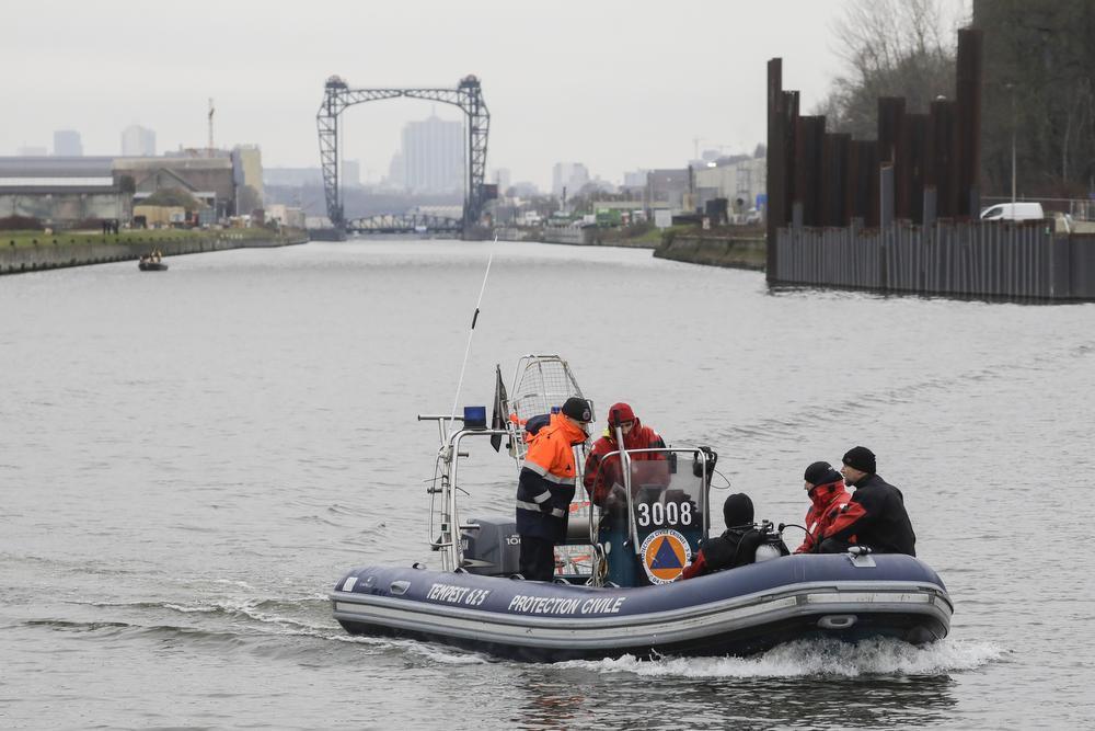 Er werden sonarboten ingezet in de zoektocht., BELGA
