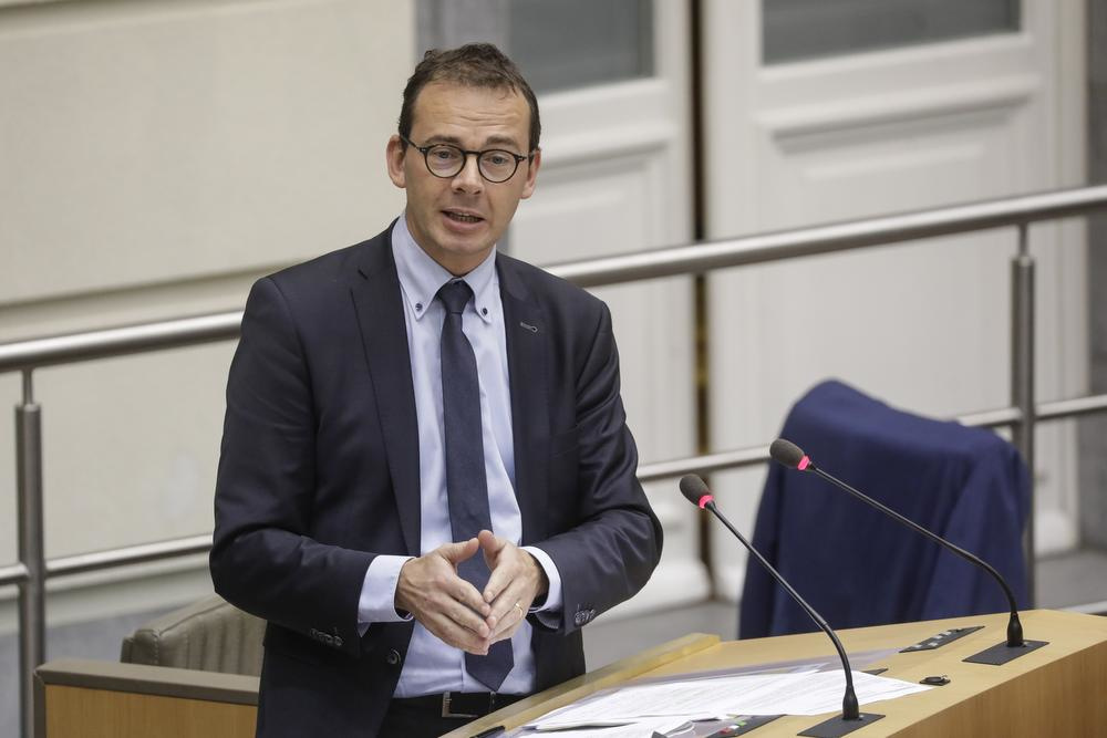 Vlaams minister van Welzijn Wouter Beke (CD&V)., BELGA
