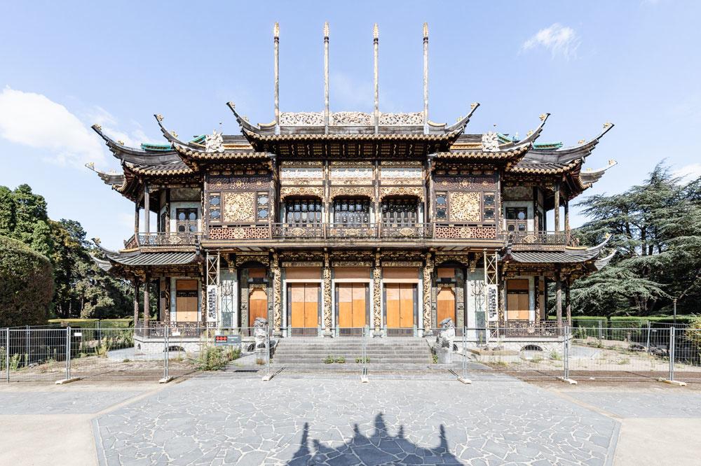 Chinees Paviljoen., Alexander Dumarey