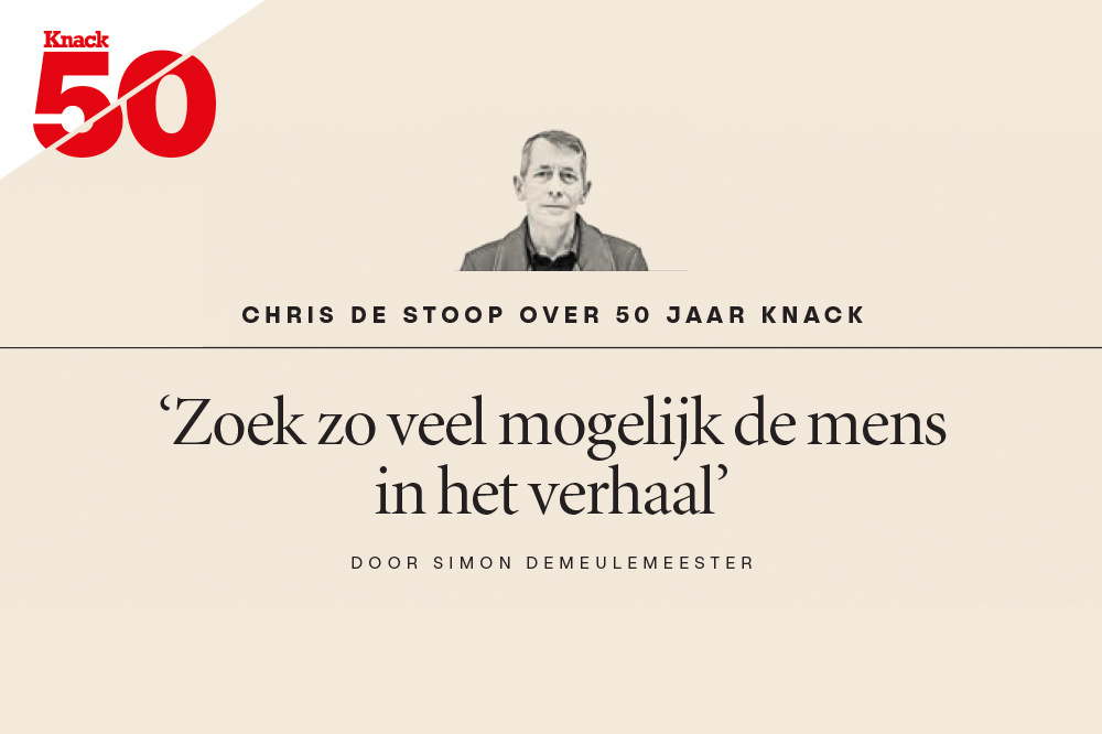 Chris De Stoop over 50 jaar Knack, Knack