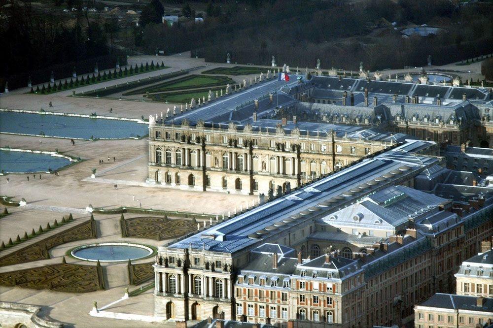 Le château de Versailles, Reuters