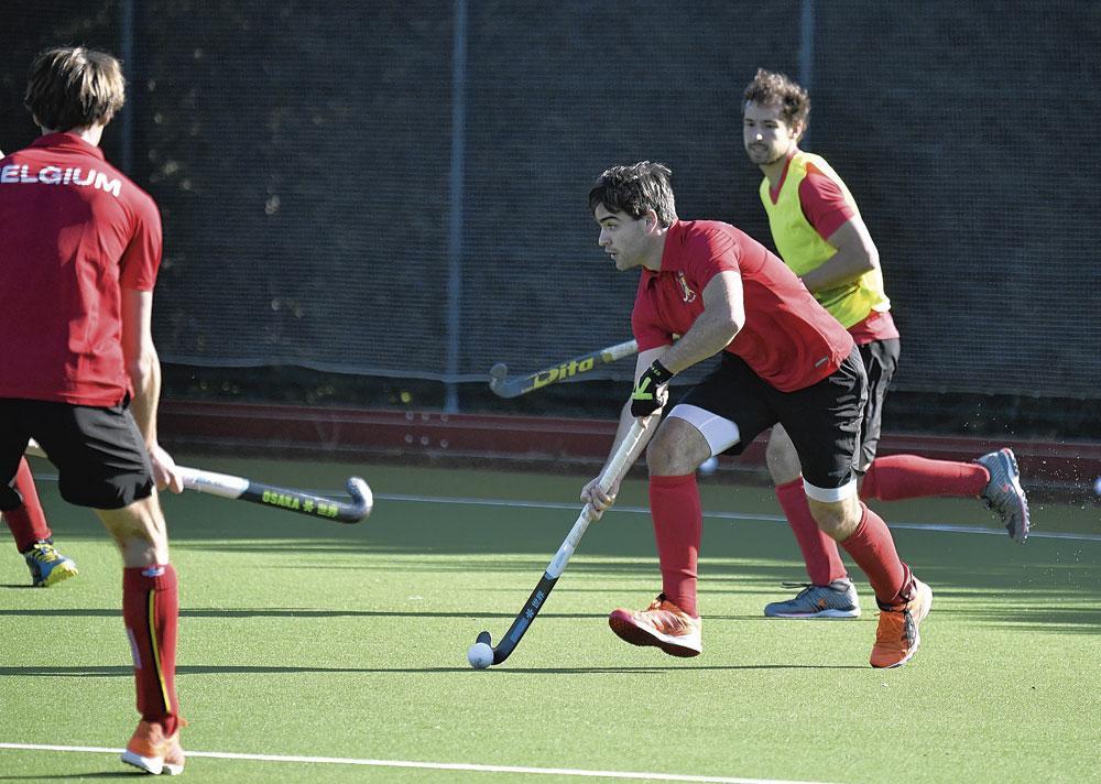 Les Red Lions disposaient de plusieurs terrains de hockey., BELGAIMAGE