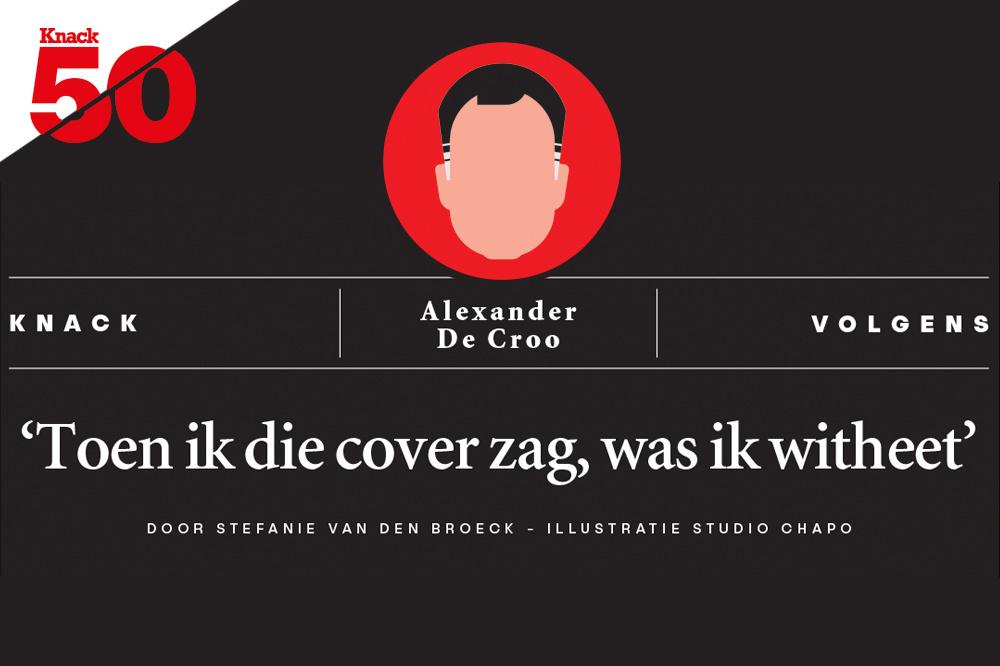 Knack volgens Alexander De Croo., /