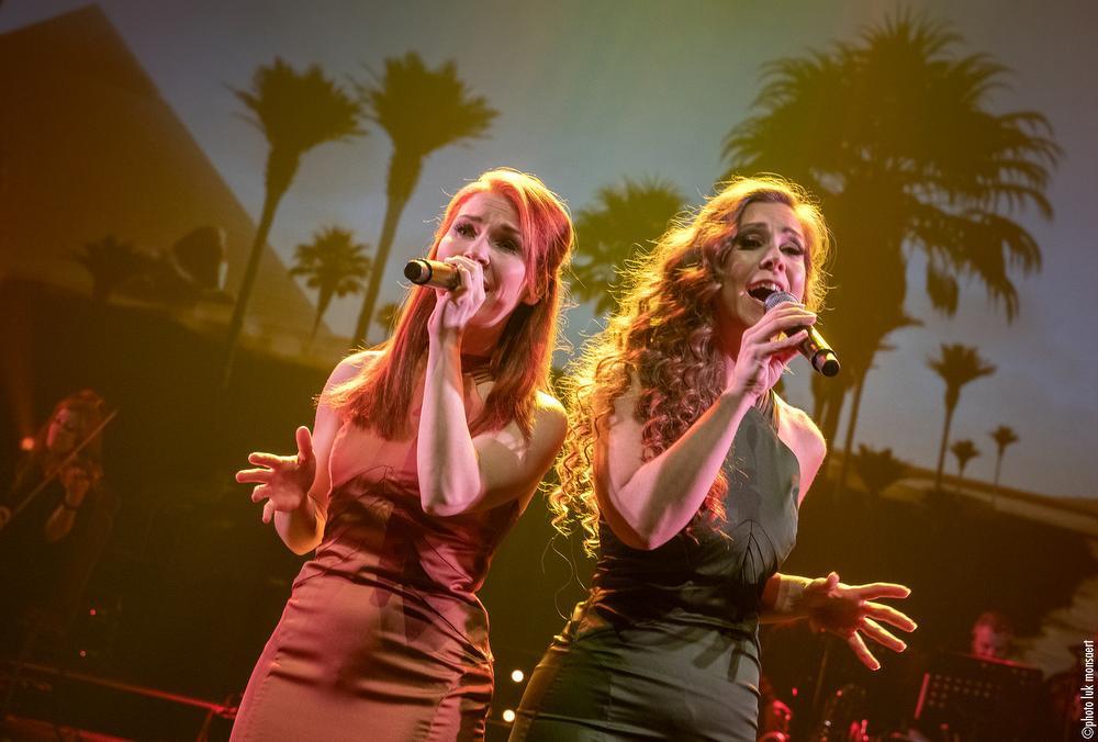 Charlotte Campion en Elke Buyle, Luk Monsaert