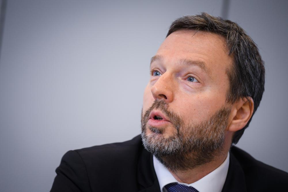 Pierre Wunsch, gouverneur van de Nationale Bank., BELGA