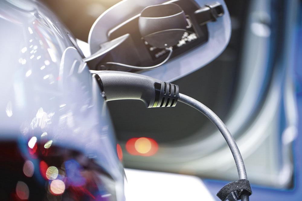 ELEKTRISCHE WAGEN Van januari tot eind november 2019 werden 7768 elektrische wagens verkocht in België., Getty Images