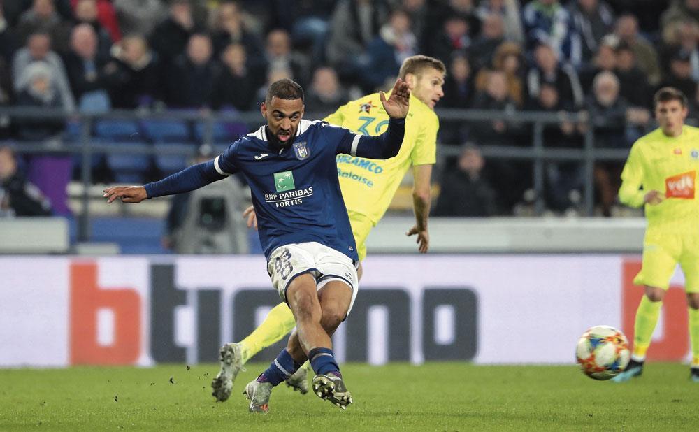 Kemar Roofe kwam tot dusver tot zes treffers en twee assists voor Anderlecht., BELGAIMAGE - CHRISTOPHE KETELS