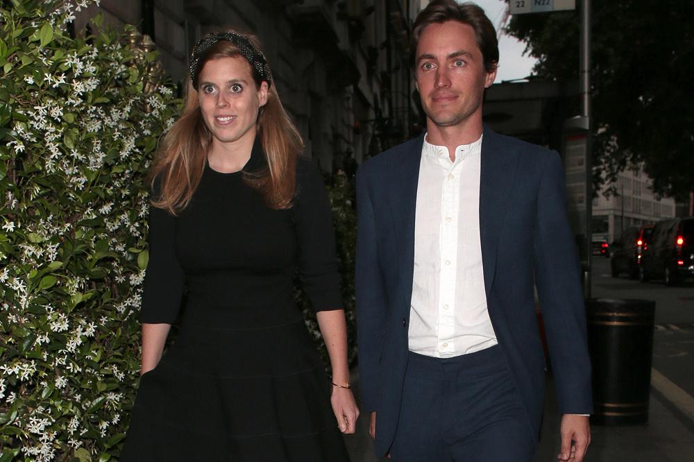 la princesse Beatrice et son fiancé, Edoardo Mapelli Mozzi, Getty Images