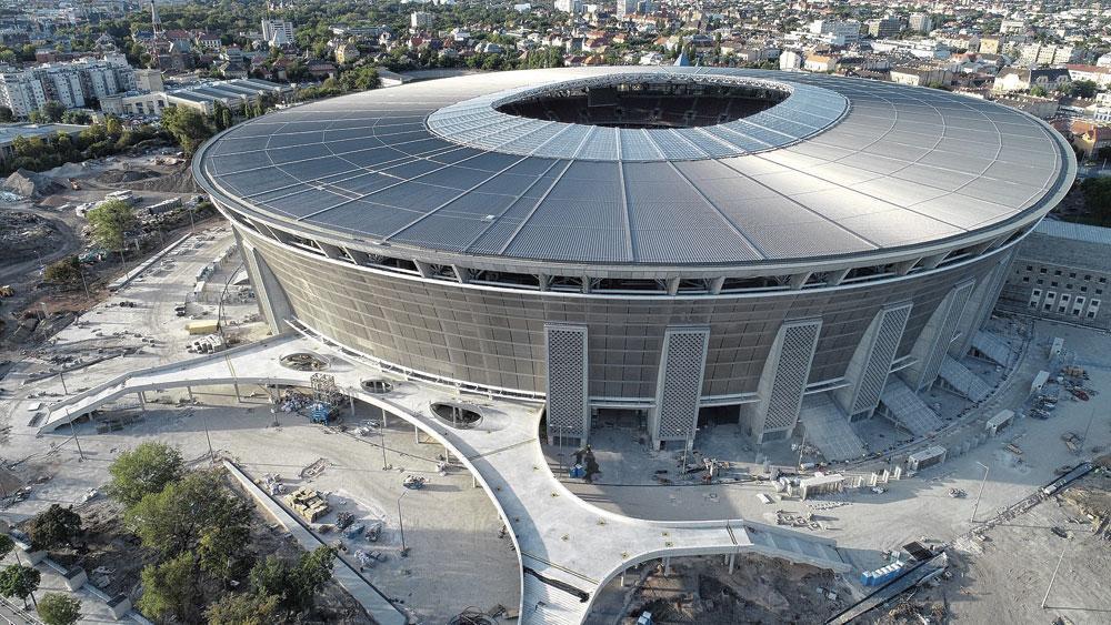 Budapest GROUPE F puskas arena capacité 67 155 3 matchs de groupe 1 huitième finale, belgaimage