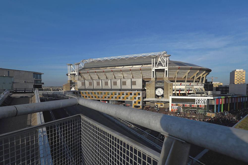 Amsterdam GROUPE C johan cruijff Arena capacité 54 990 3 matchs de groupe 1 huitième finale, belgaimage