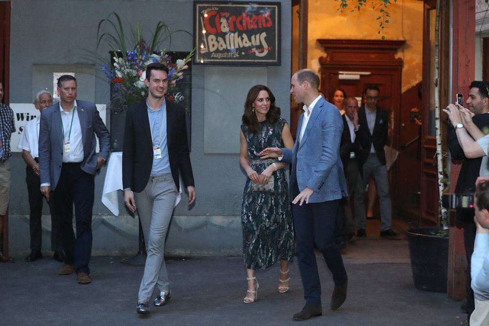 Kate et William en visite, Getty Images