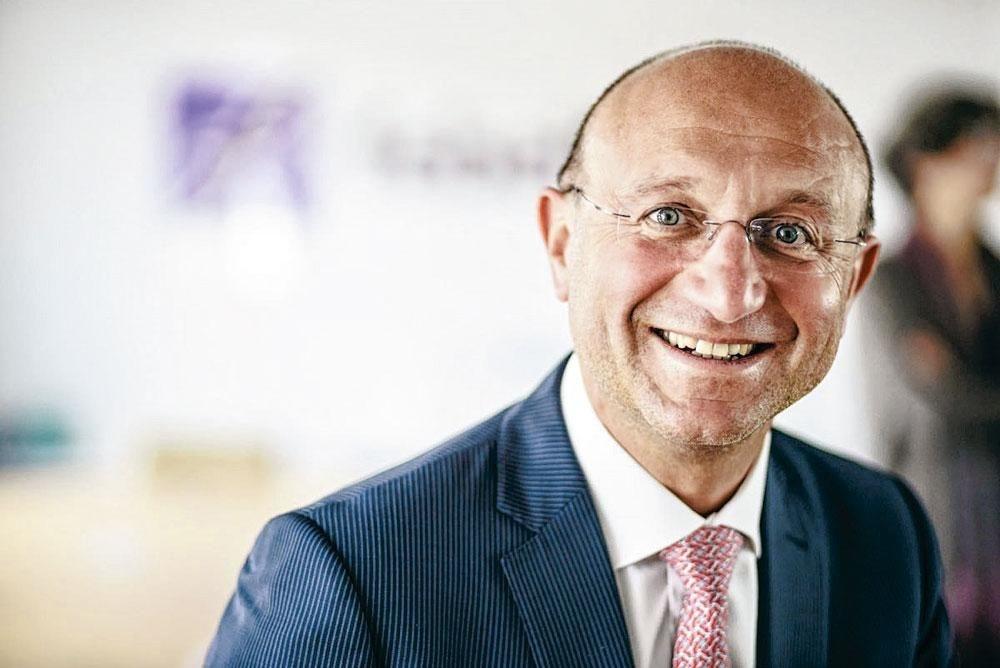 """Jean-Pierre Di Bartolomeo (Sowalfin): """"Nous pouvons injecter une centaine de millions d'euros de trésorerie supplémentaire dans les entreprises en Wallonie."""" , Pg - Febelfin"""