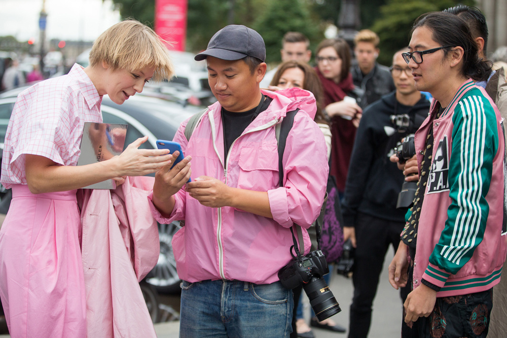 Le streetstyle photographer Tommy Ton, Getty Images