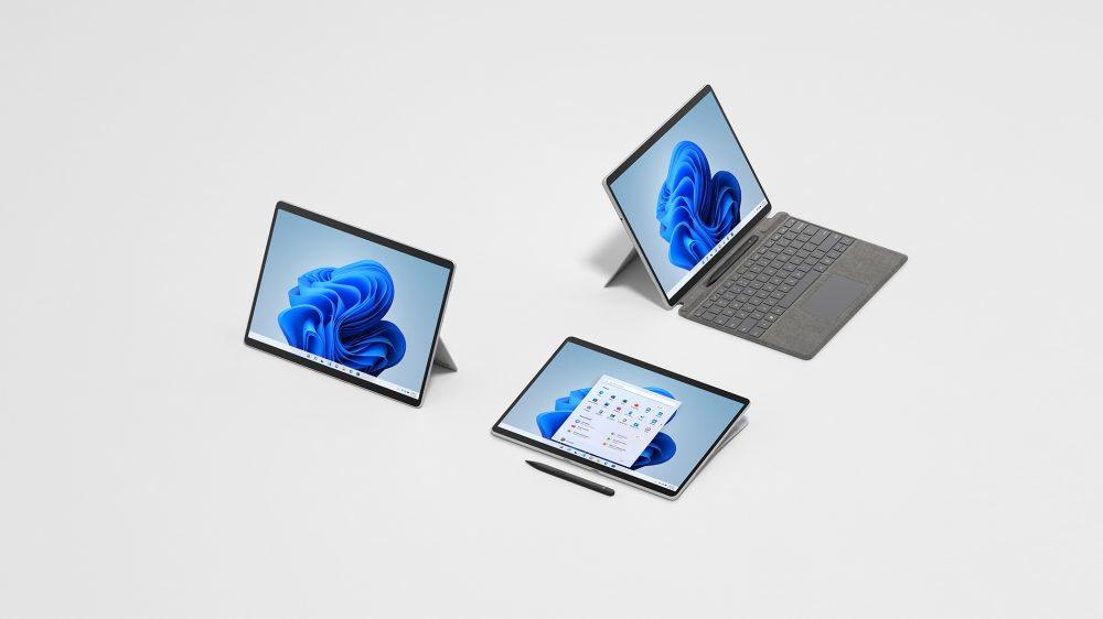 Surface Pro 8, Microsoft