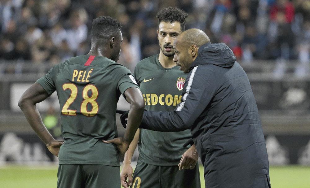 Met Thierry Henry bij AS Monaco. De coach zou Chadli nu ook willen bij Montréal Impact., BELGAIMAGE