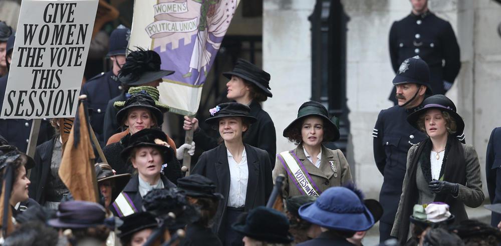Le mouvement des suffragettes porté au cinéma